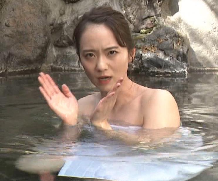 鉢嶺杏奈 入浴シーン(世界ふしぎ発見!エロ回)キャプ・エロ画像9
