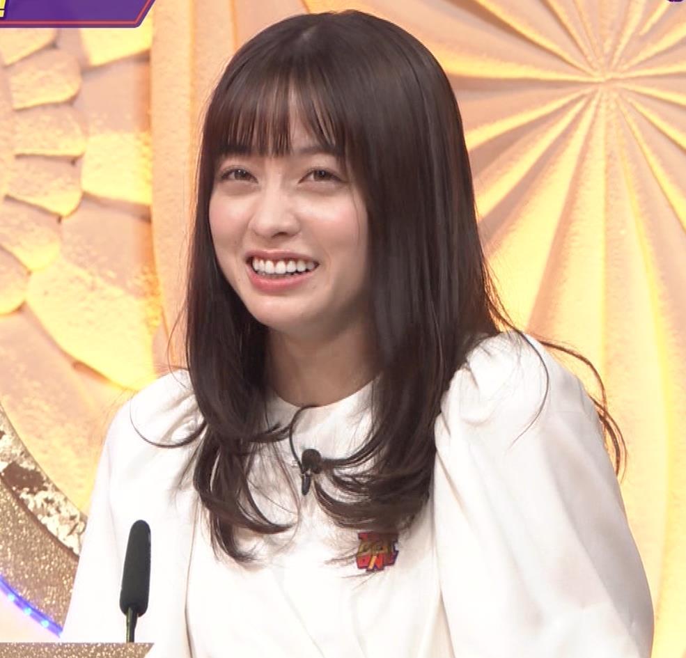 橋本環奈 五輪開会式の生の裏番組でもかわいいキャプ・エロ画像