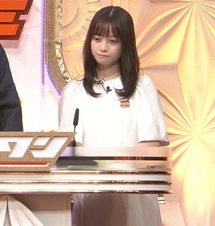 橋本環奈 五輪開会式の生の裏番組でもかわいいキャプ・エロ画像4