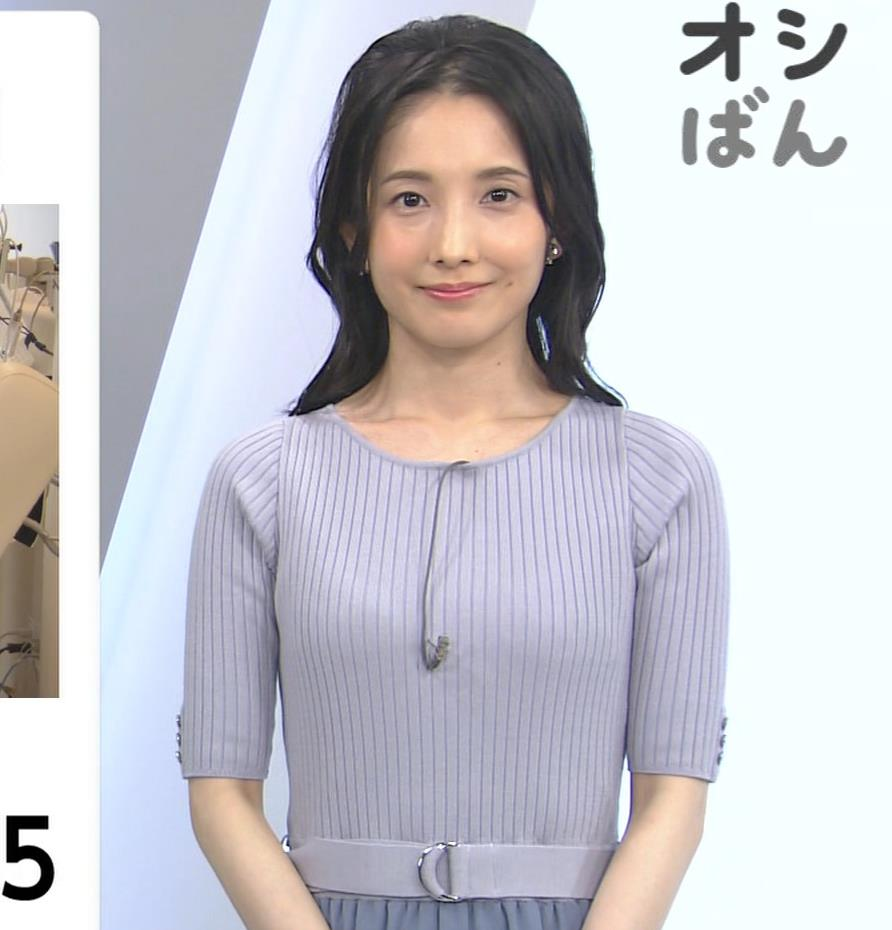 林田理沙アナ ニットおっぱいキャプ・エロ画像