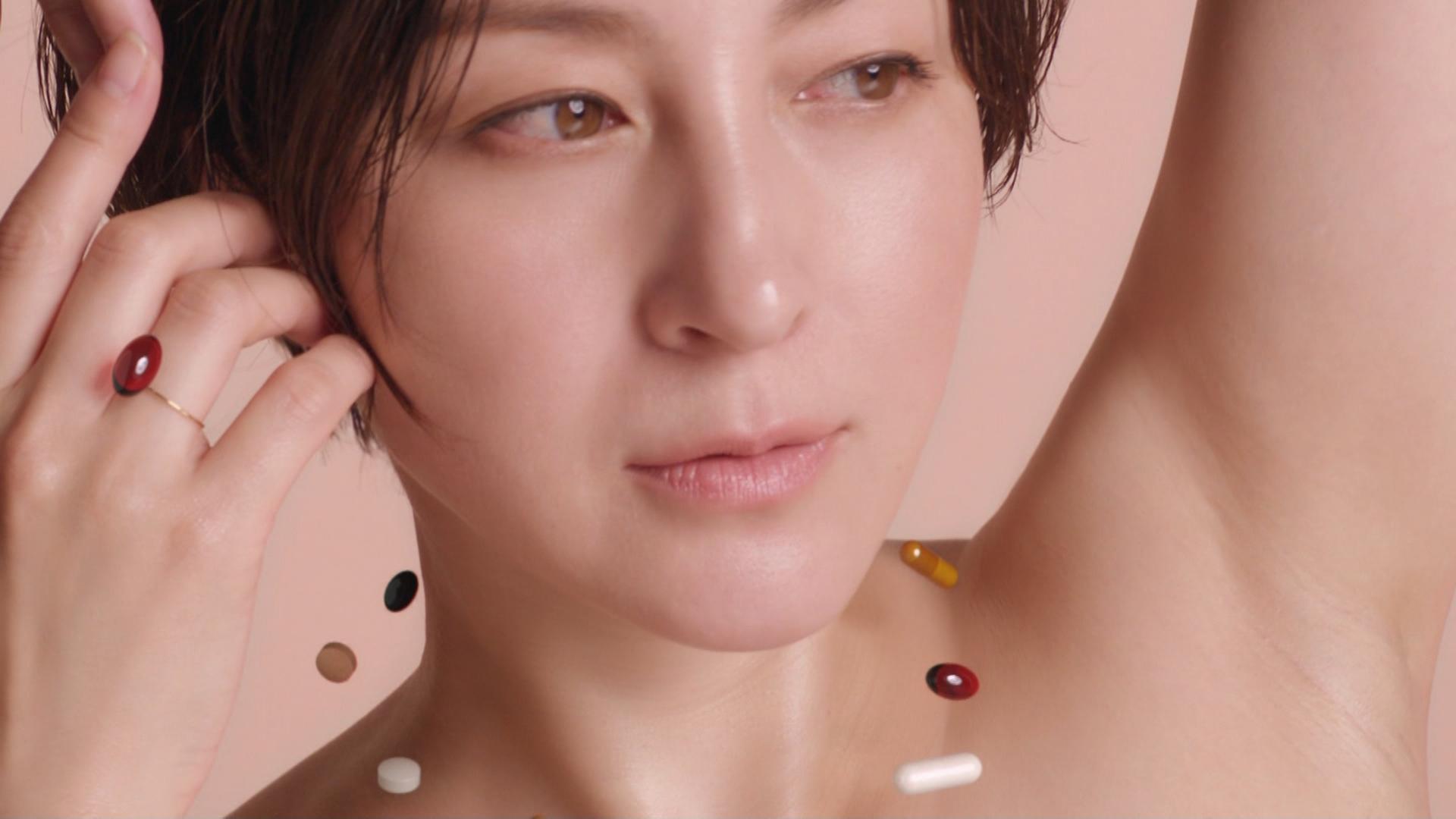 広末涼子 裸のCMが綺麗でエロい(ツルワキ)キャプ・エロ画像6