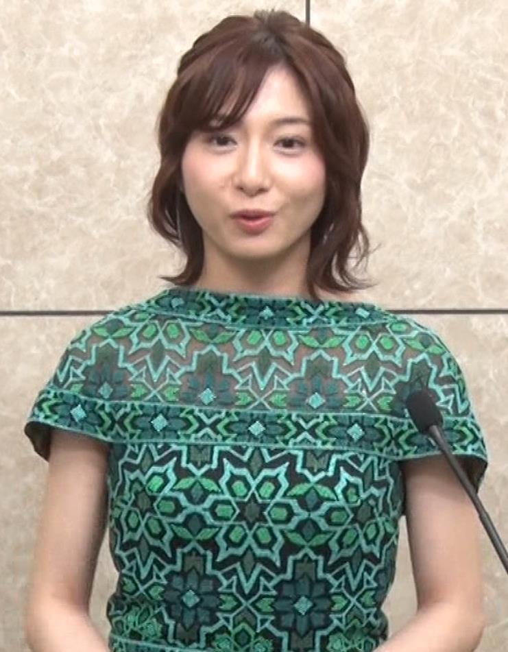 市來玲奈アナ 胸のふくらみキャプ・エロ画像7