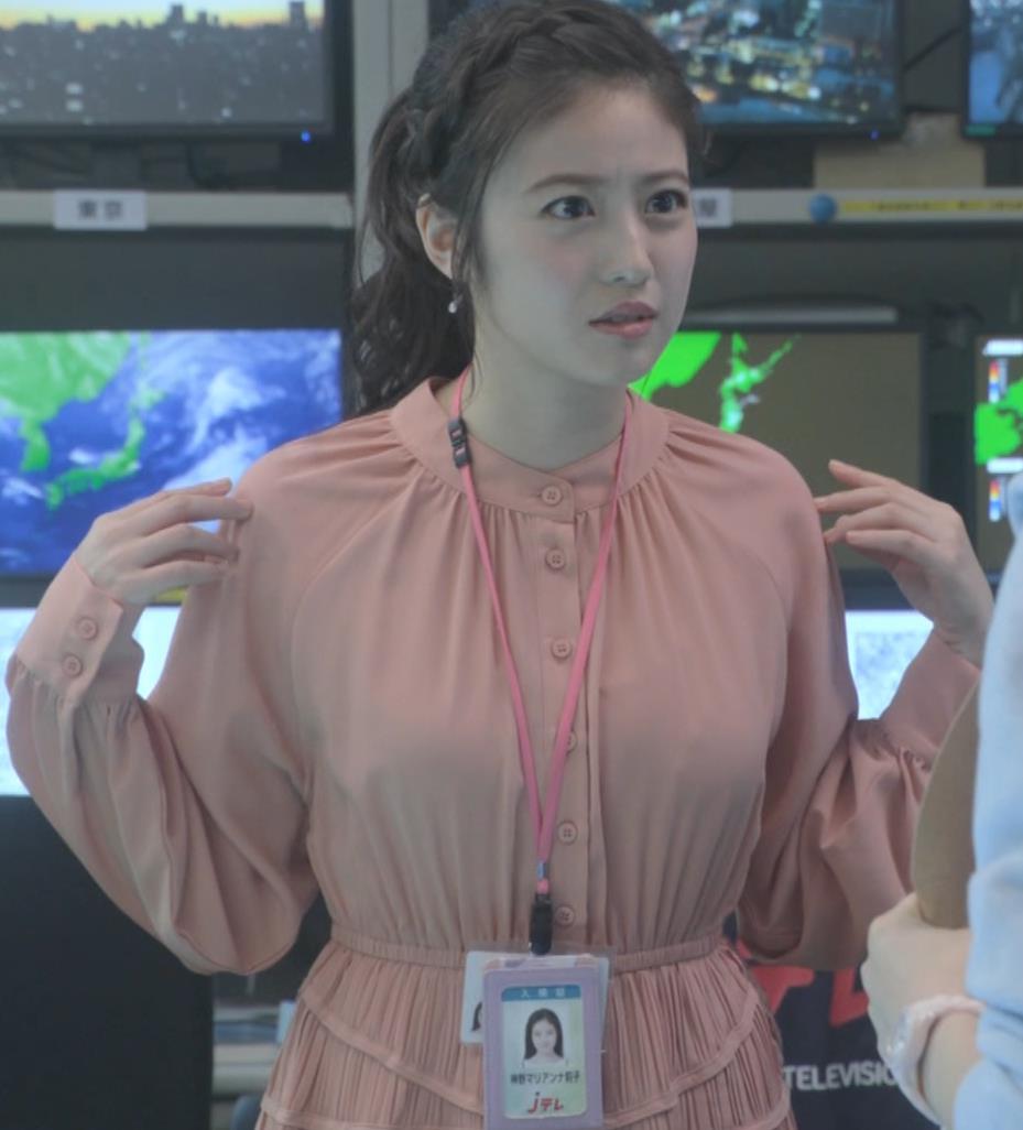 今田美桜 朝ドラでおっぱいが目立ってしまうキャプ・エロ画像9