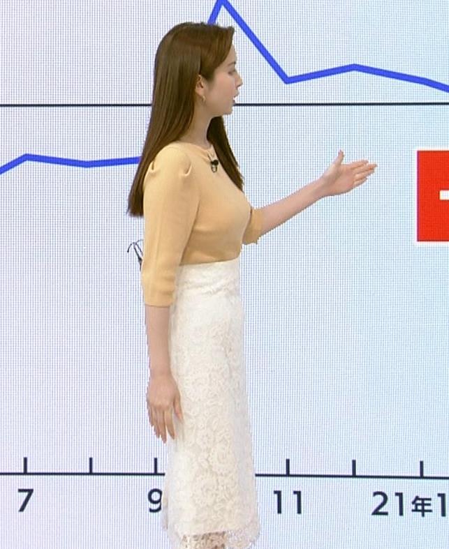 角谷暁子アナ ニット横乳がすごいことになってるキャプ・エロ画像3