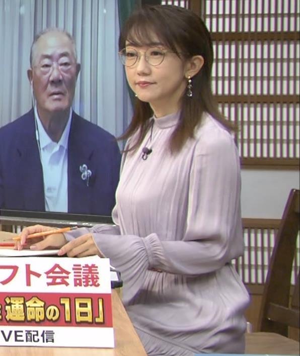 唐橋ユミ サンデーモーニングキャプ・エロ画像