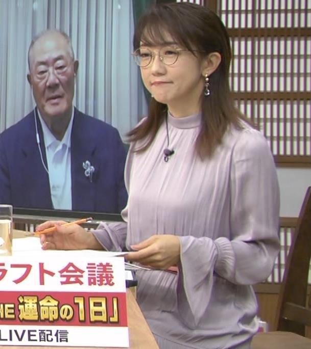 唐橋ユミ サンデーモーニングキャプ・エロ画像5