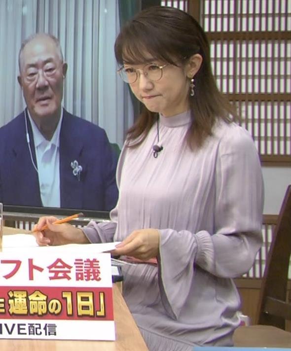 唐橋ユミ サンデーモーニングキャプ・エロ画像6