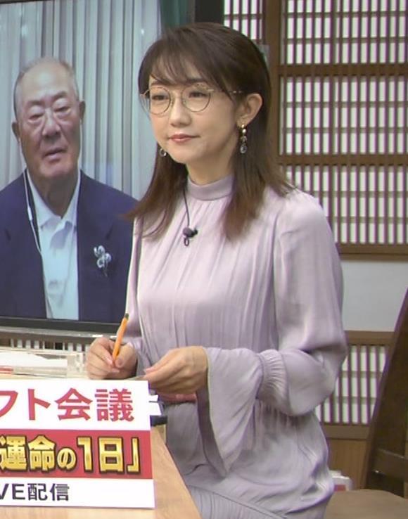唐橋ユミ サンデーモーニングキャプ・エロ画像9