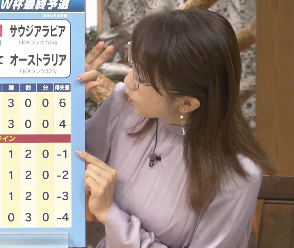 唐橋ユミ サンデーモーニングキャプ・エロ画像10