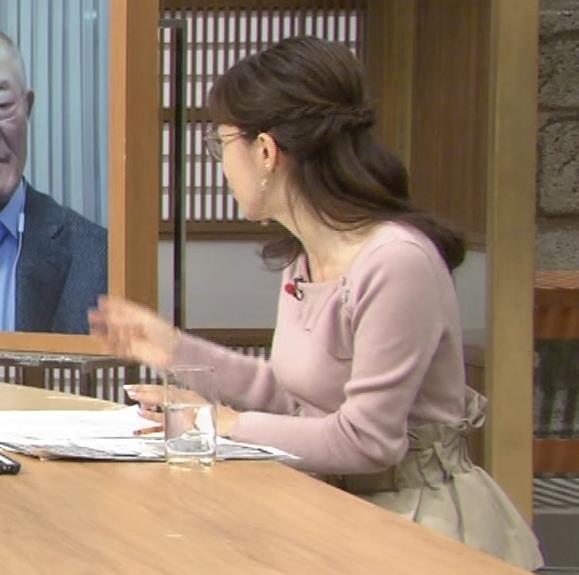 唐橋ユミ でかい横乳画像キャプ・エロ画像2