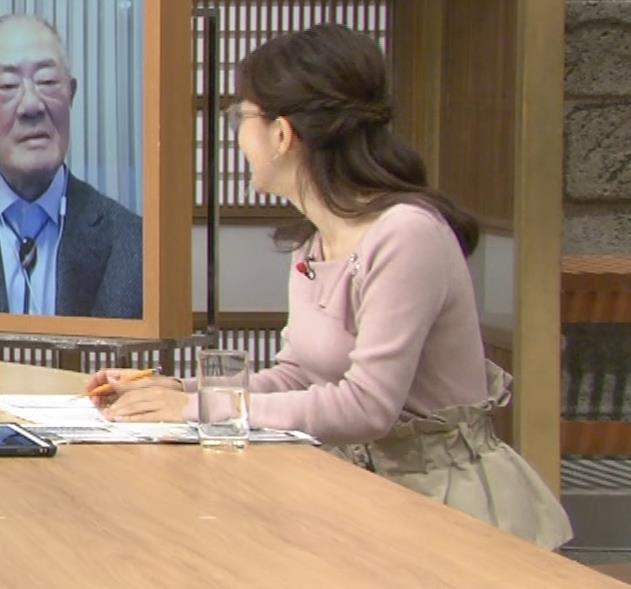 唐橋ユミ でかい横乳画像キャプ・エロ画像3