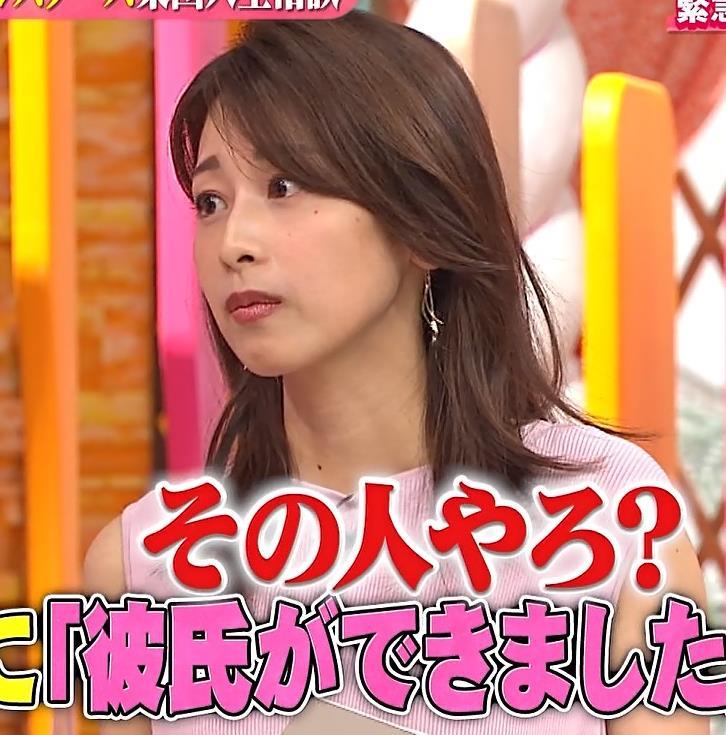 加藤綾子 ピンクのワンピースキャプ・エロ画像6