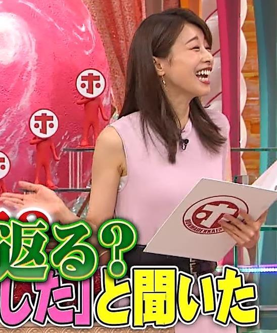 加藤綾子 ピンクのワンピースキャプ・エロ画像8