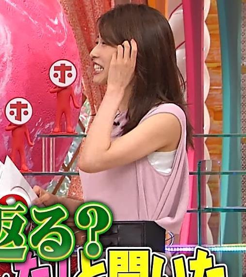 加藤綾子 ピンクのワンピースキャプ・エロ画像9