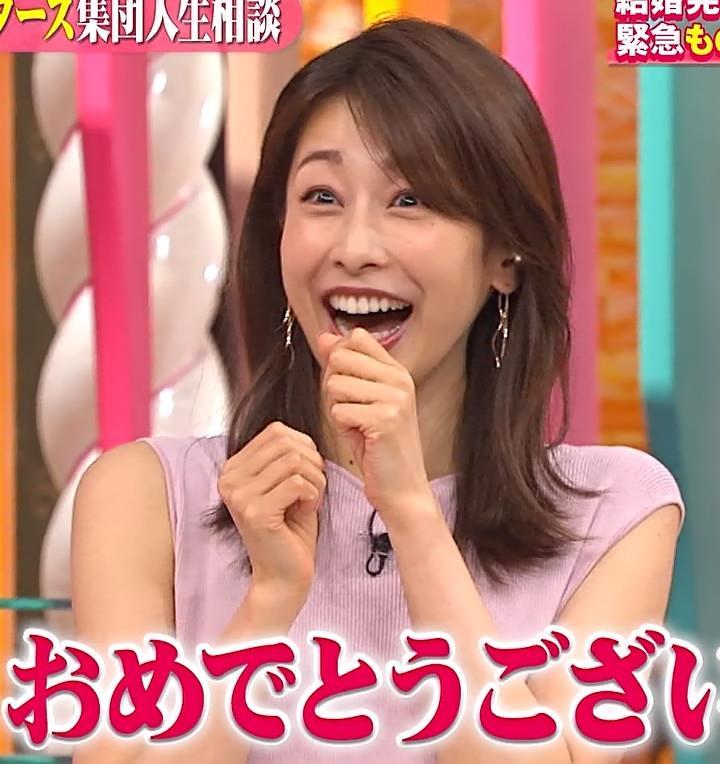 加藤綾子 ピンクのワンピースキャプ・エロ画像10