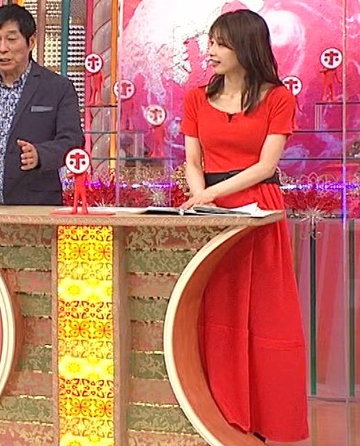 加藤綾子 久しぶりにニットおっぱいがエロかったキャプ・エロ画像2