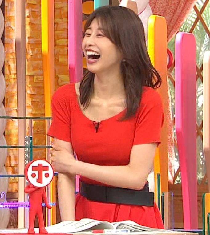 加藤綾子 久しぶりにニットおっぱいがエロかったキャプ・エロ画像14