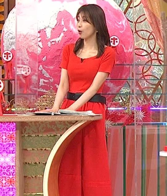 加藤綾子 久しぶりにニットおっぱいがエロかったキャプ・エロ画像3