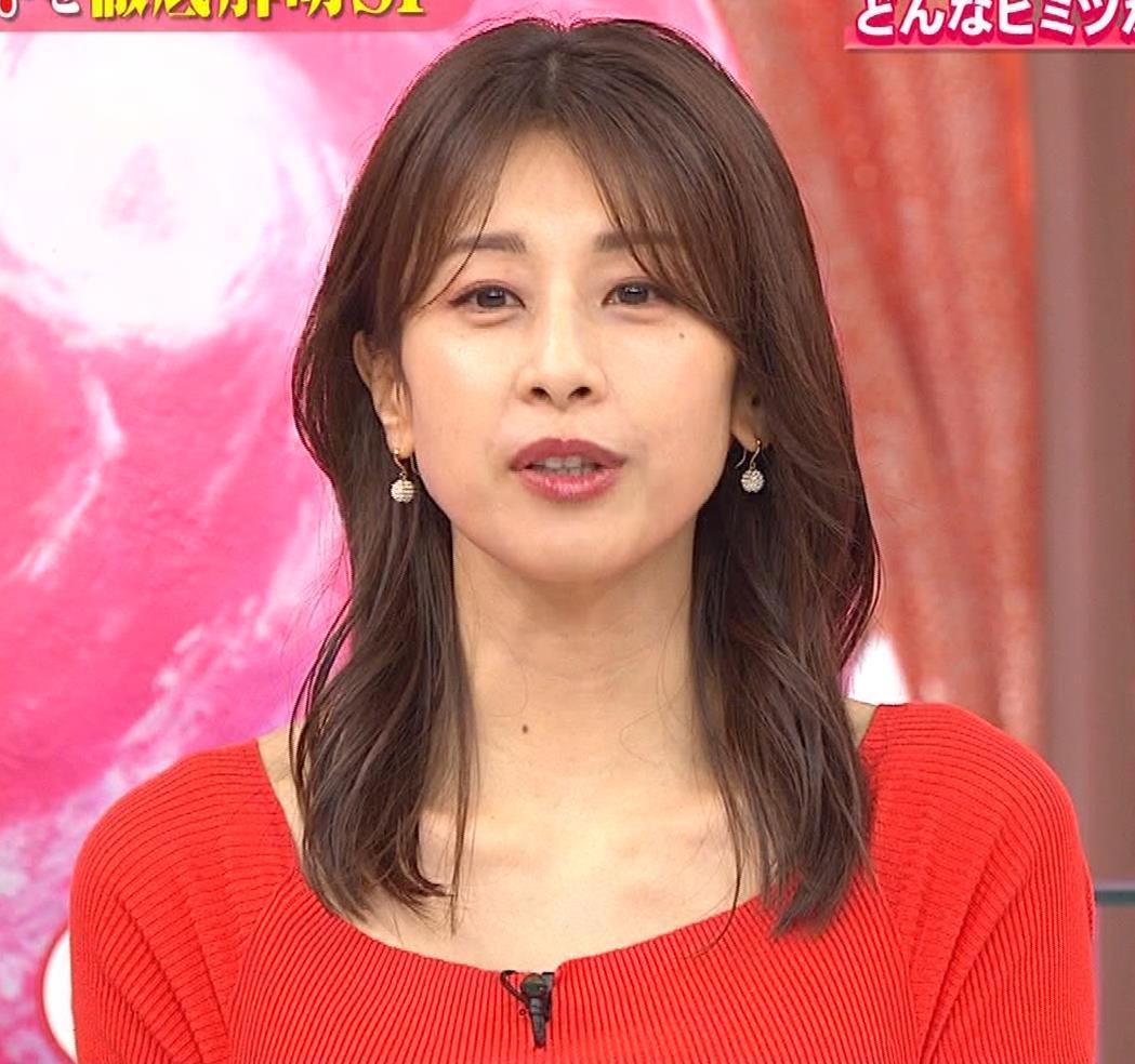 加藤綾子 久しぶりにニットおっぱいがエロかったキャプ・エロ画像4