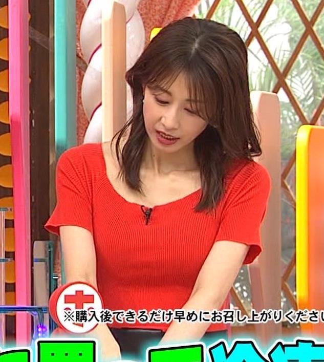 加藤綾子 久しぶりにニットおっぱいがエロかったキャプ・エロ画像6