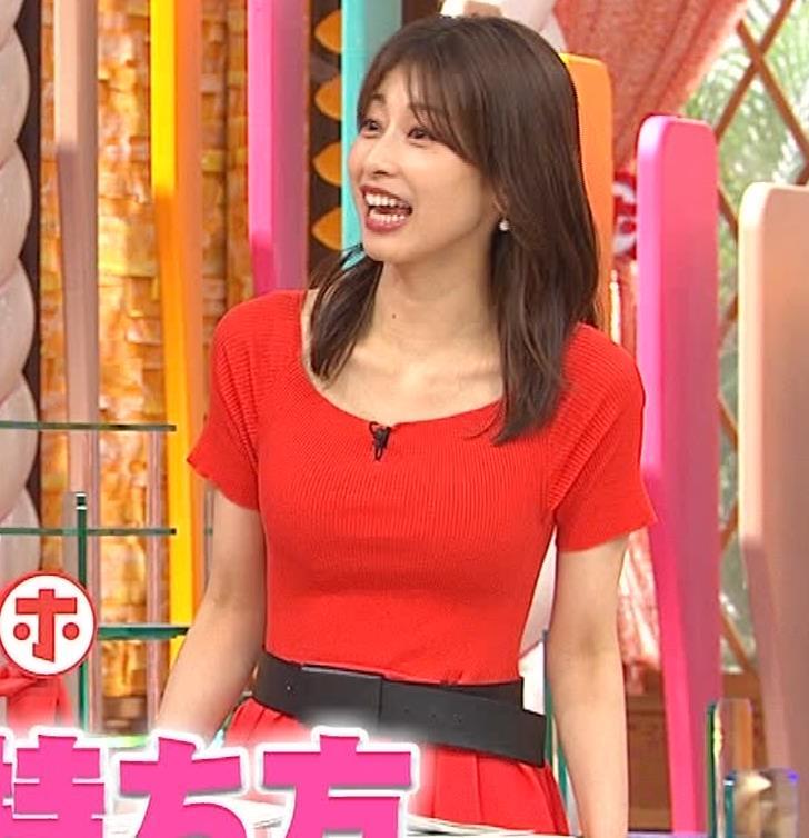 加藤綾子 久しぶりにニットおっぱいがエロかったキャプ・エロ画像8