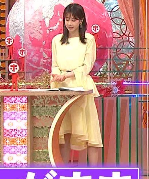 加藤綾子 脚がちょいエロキャプ・エロ画像2