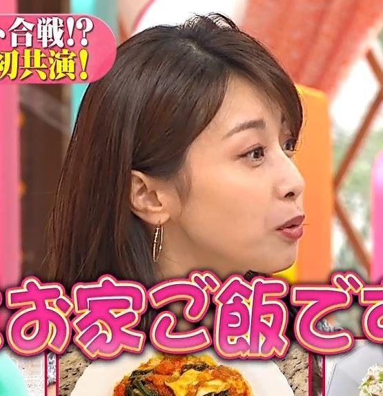 加藤綾子 ワンピースの横乳キャプ・エロ画像3