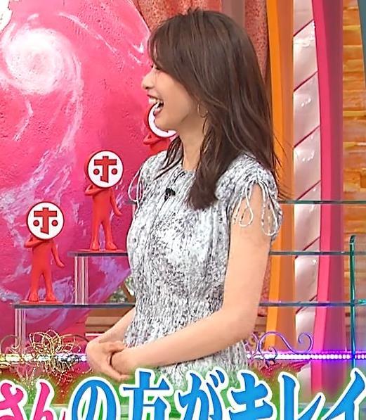 加藤綾子 ワンピースの横乳キャプ・エロ画像6