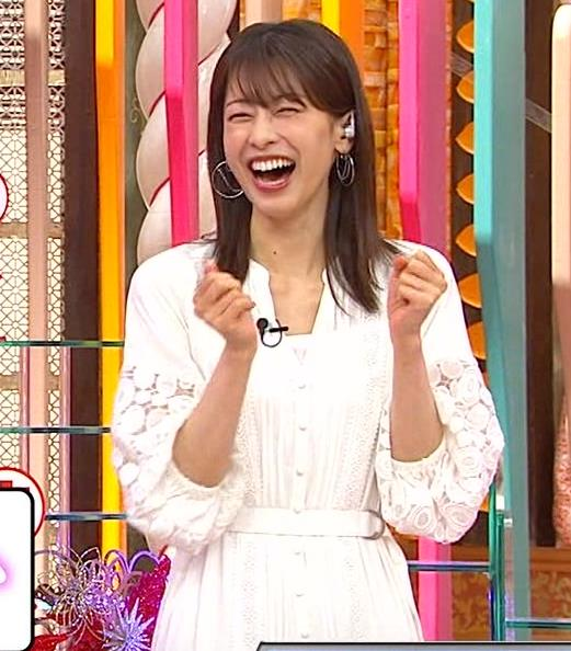 加藤綾子 ホンマでっか!?TVキャプ・エロ画像