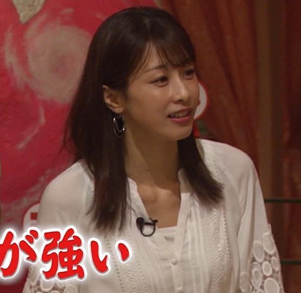 加藤綾子 ホンマでっか!?TVキャプ・エロ画像3
