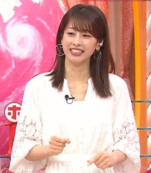 加藤綾子 ホンマでっか!?TVキャプ・エロ画像4