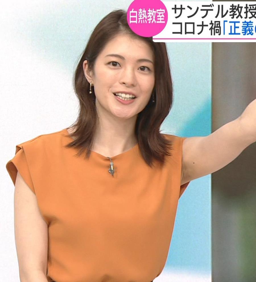川﨑理加アナ 巨乳横乳キャプ・エロ画像6