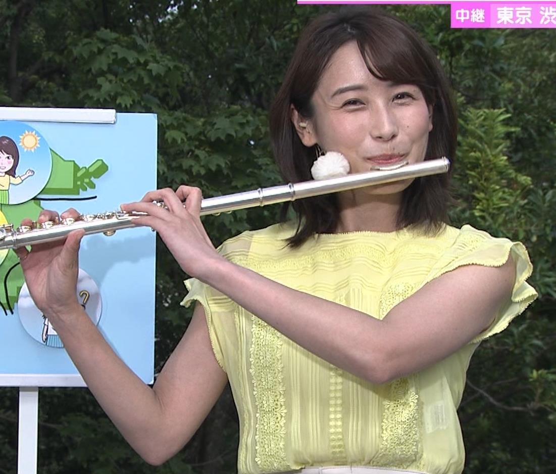 エロいTシャツ横乳(美人気象予報士)キャプ・エロ画像8