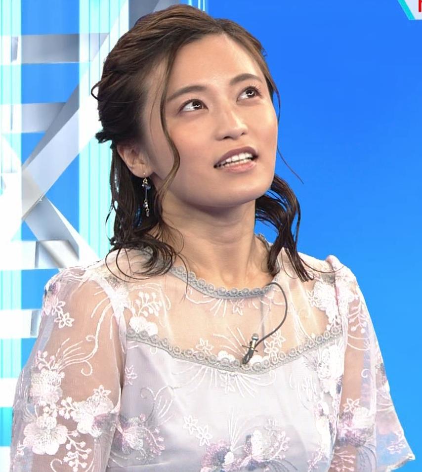 小島瑠璃子 透け透けワンピースキャプ・エロ画像2