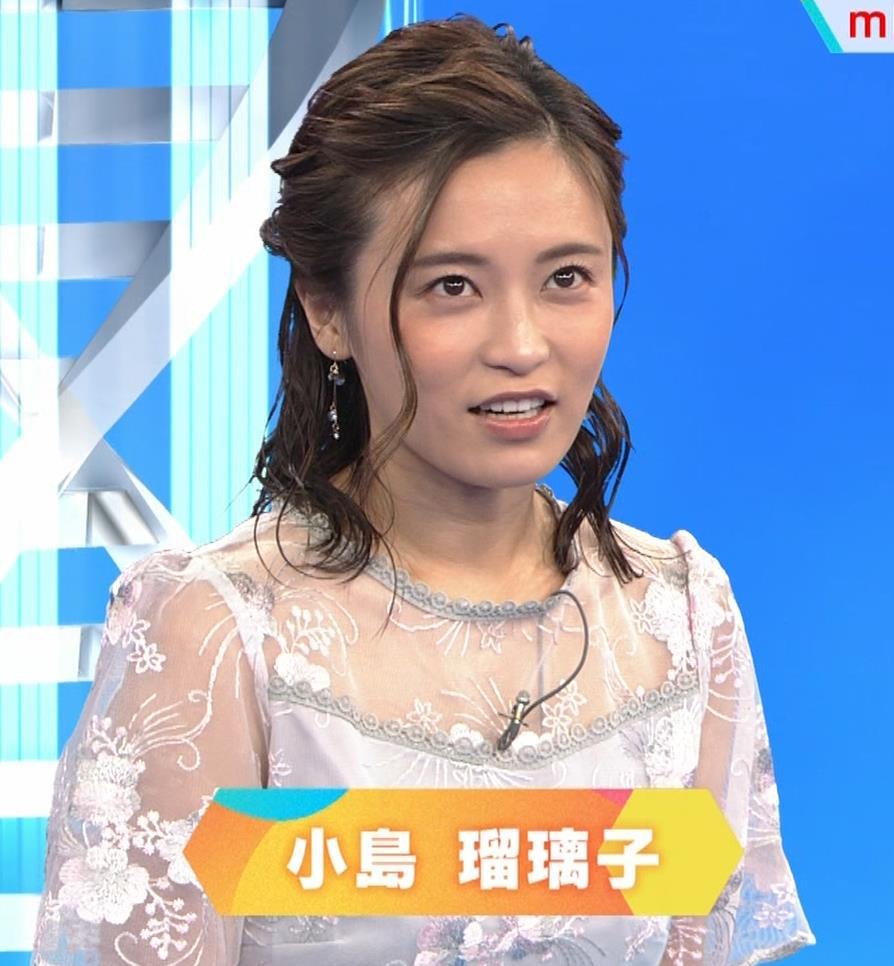 小島瑠璃子 透け透けワンピースキャプ・エロ画像3