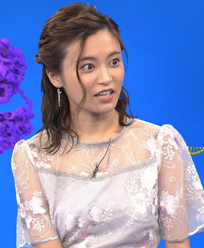 小島瑠璃子 透け透けワンピースキャプ・エロ画像4