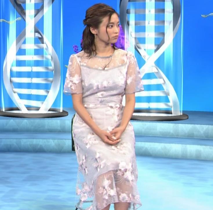 小島瑠璃子 透け透けワンピースキャプ・エロ画像6