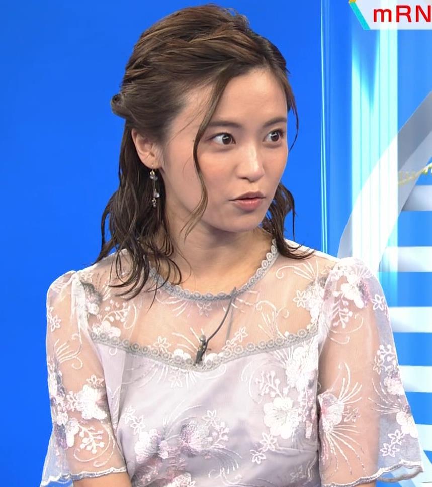 小島瑠璃子 透け透けワンピースキャプ・エロ画像8