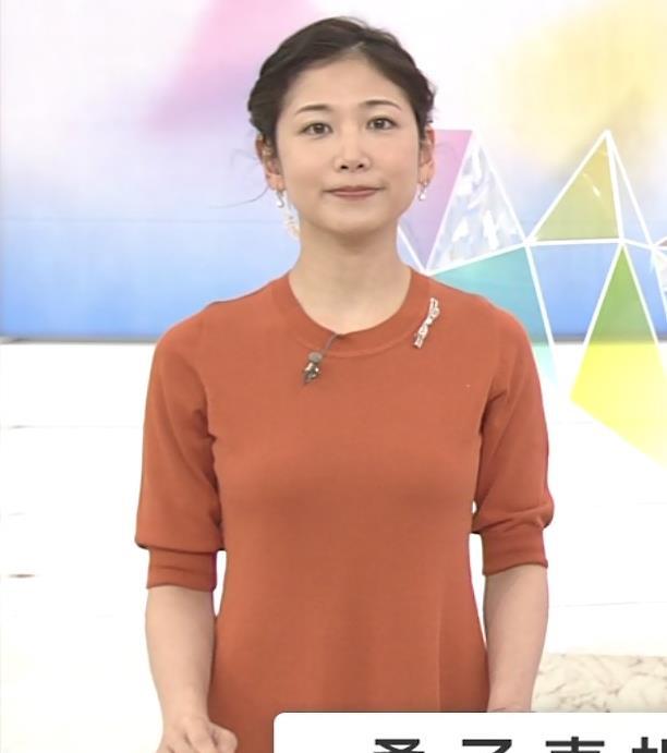 桑子真帆アナ 横乳画像キャプ・エロ画像