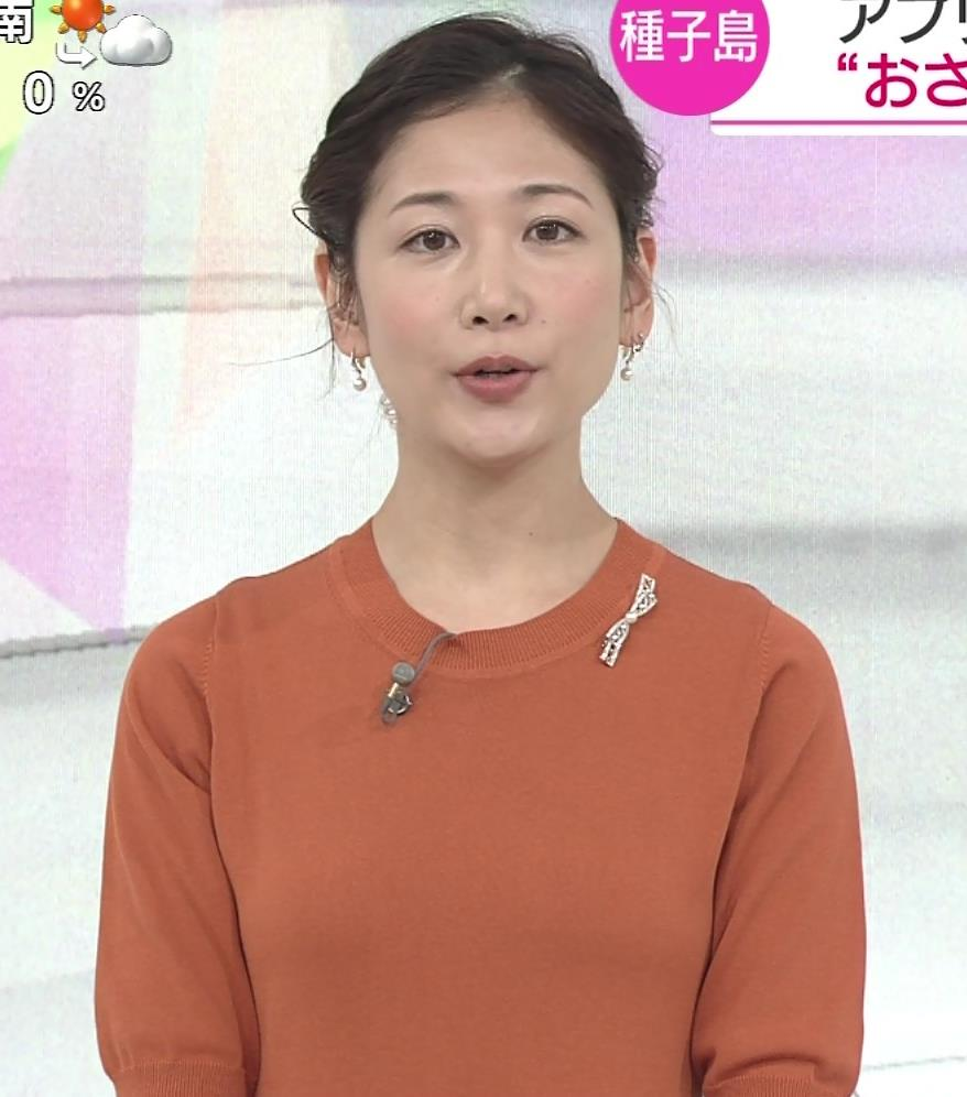 桑子真帆アナ 横乳画像キャプ・エロ画像2