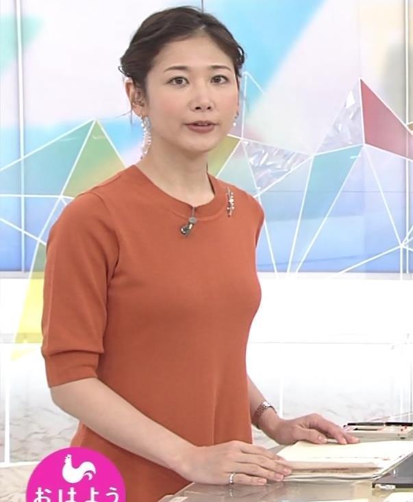 桑子真帆アナ 横乳画像キャプ・エロ画像4