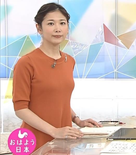 桑子真帆アナ 横乳画像キャプ・エロ画像5
