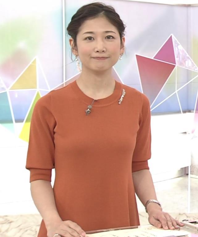 桑子真帆アナ 横乳画像キャプ・エロ画像6
