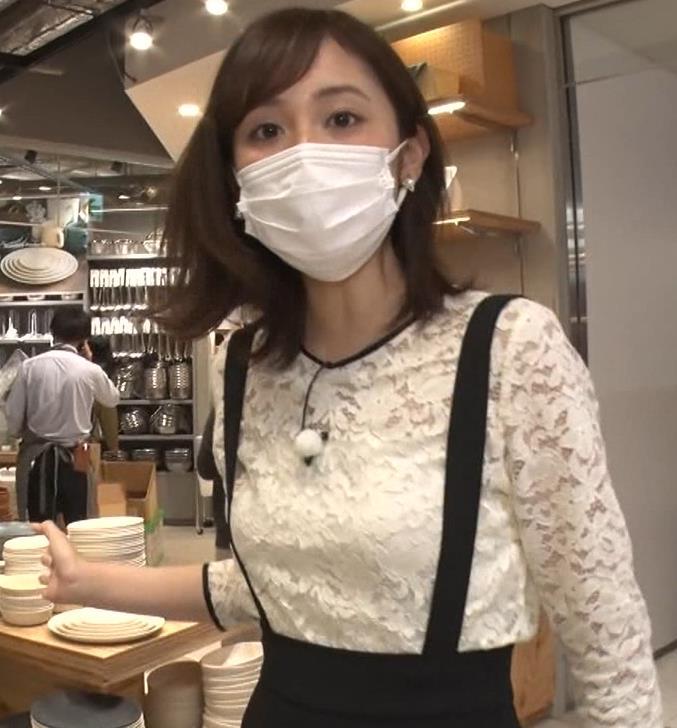 久慈暁子アナ 大きくないけどエロいおっぱいキャプ・エロ画像2