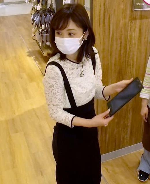 久慈暁子アナ 大きくないけどエロいおっぱいキャプ・エロ画像12