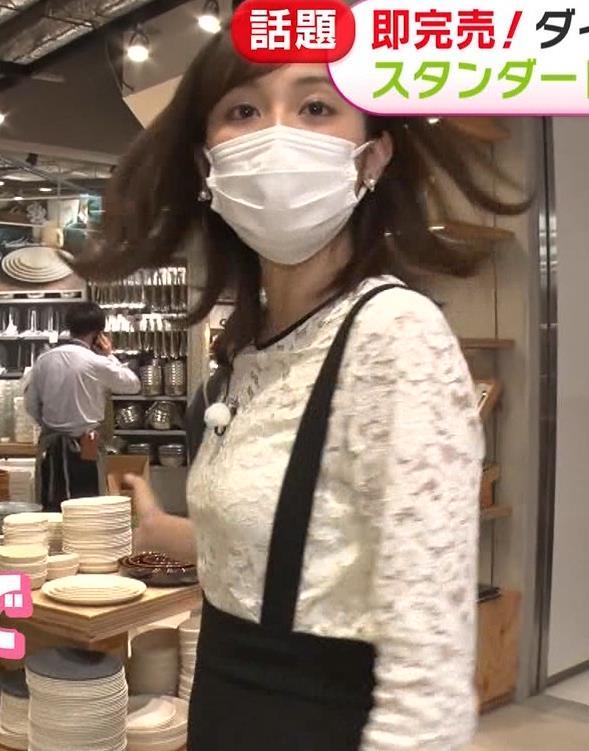 久慈暁子アナ 大きくないけどエロいおっぱいキャプ・エロ画像4