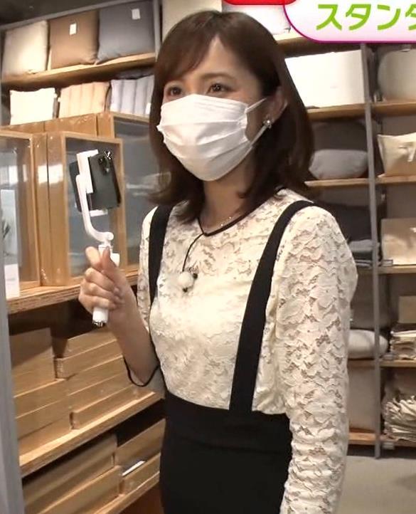 久慈暁子アナ 大きくないけどエロいおっぱいキャプ・エロ画像5