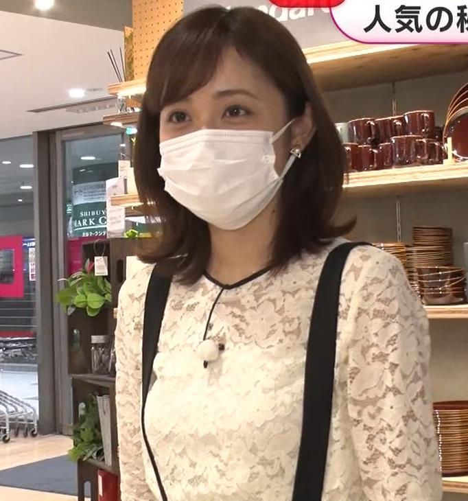久慈暁子アナ 大きくないけどエロいおっぱいキャプ・エロ画像9