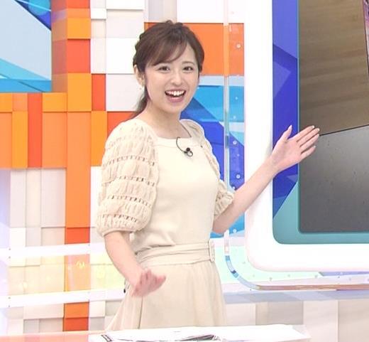 久慈暁子アナ 横乳キャプ・エロ画像4