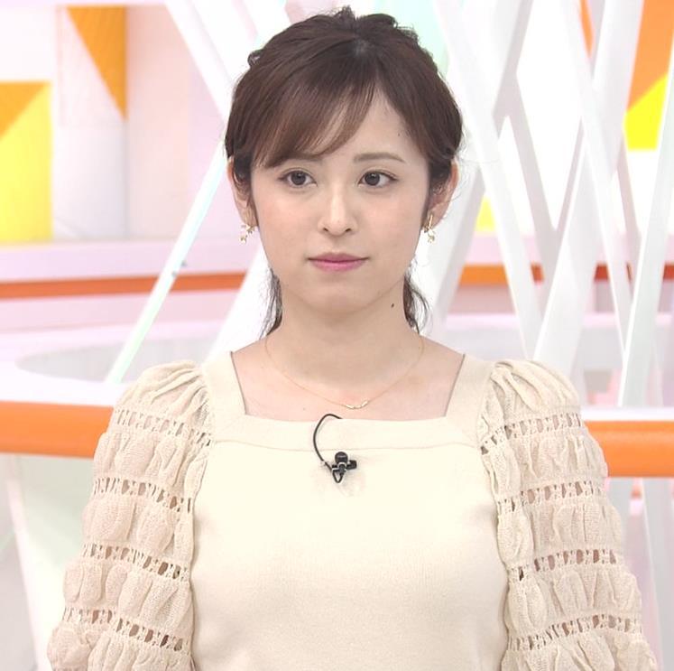 久慈暁子アナ 横乳キャプ・エロ画像7